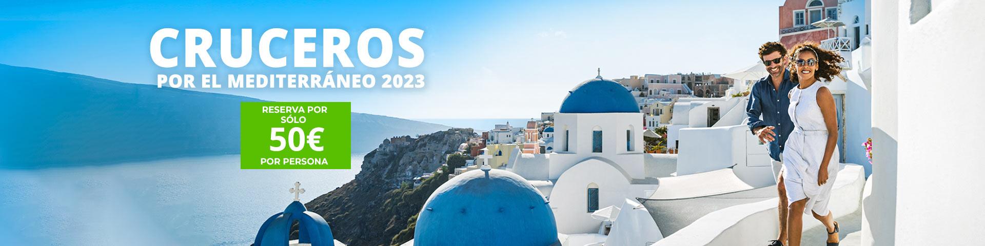 Cruceros Mediterráneo 2021. CrucerosMediterraneo.com