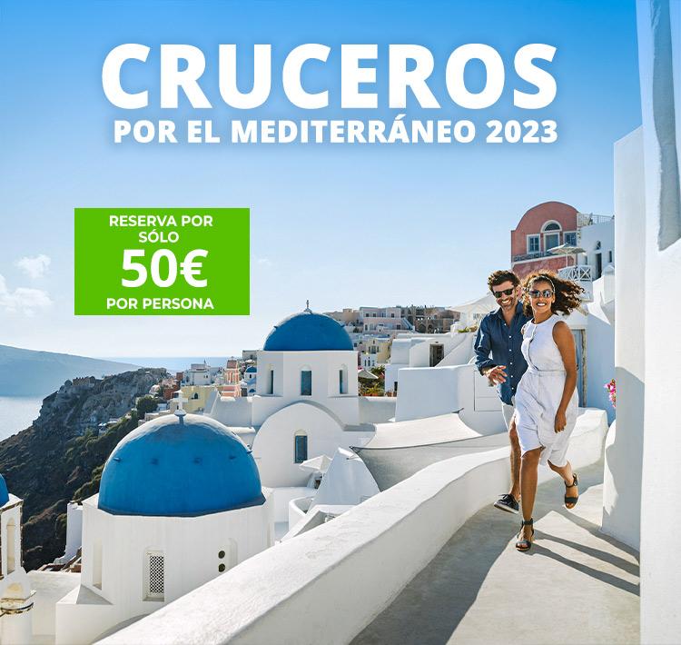 Cruceros Mediterráneo 2022. CrucerosMediterraneo.com