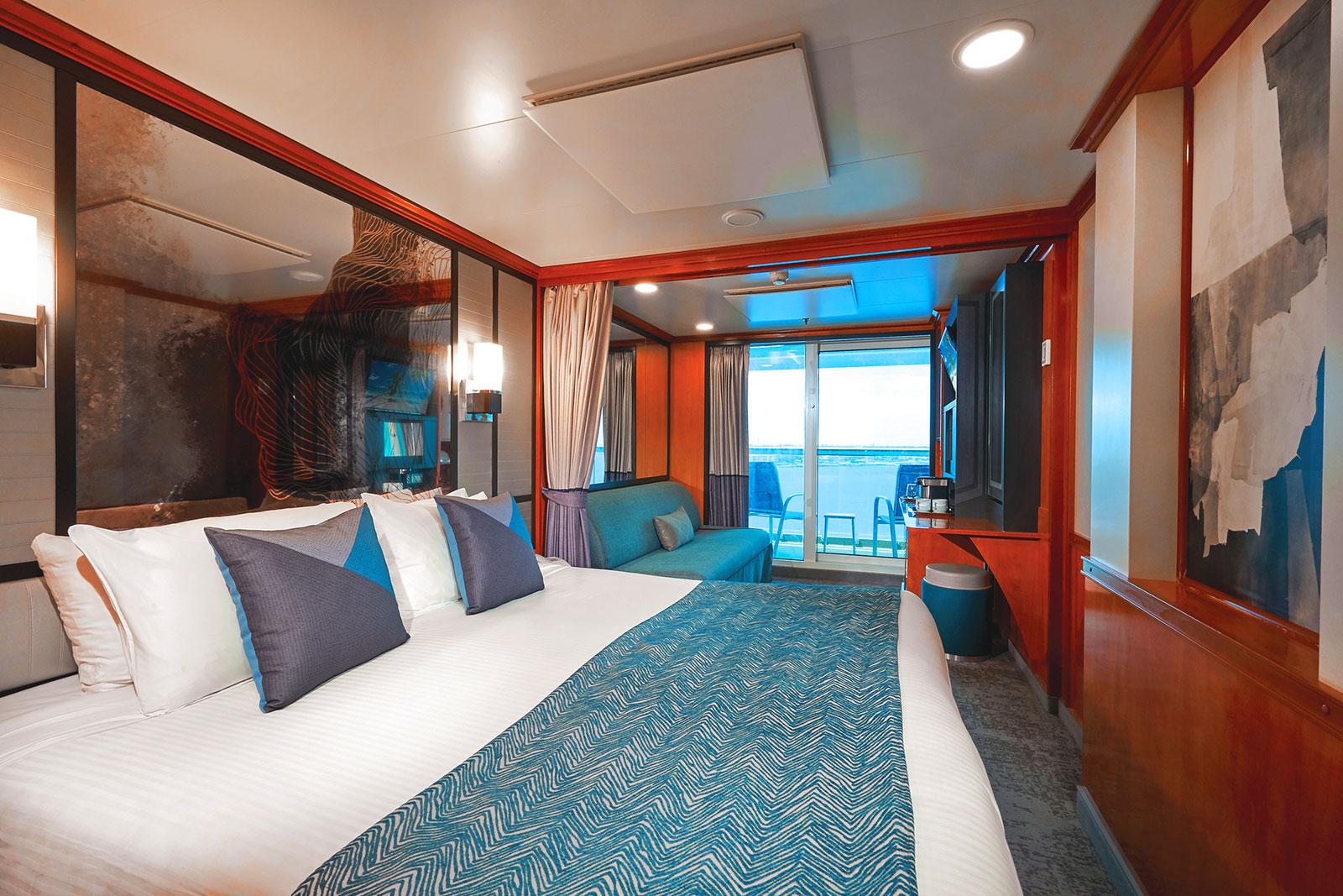 Mini-Suite en Popa con Balcón