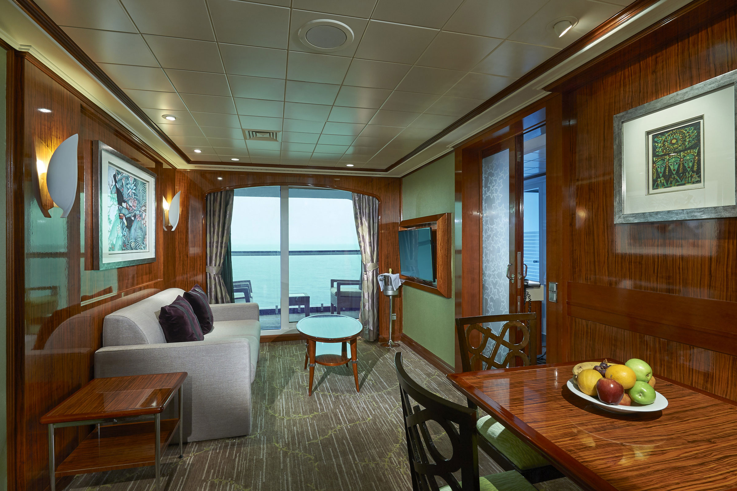 Suite Familiar de 2 Dormitorios con Balcón