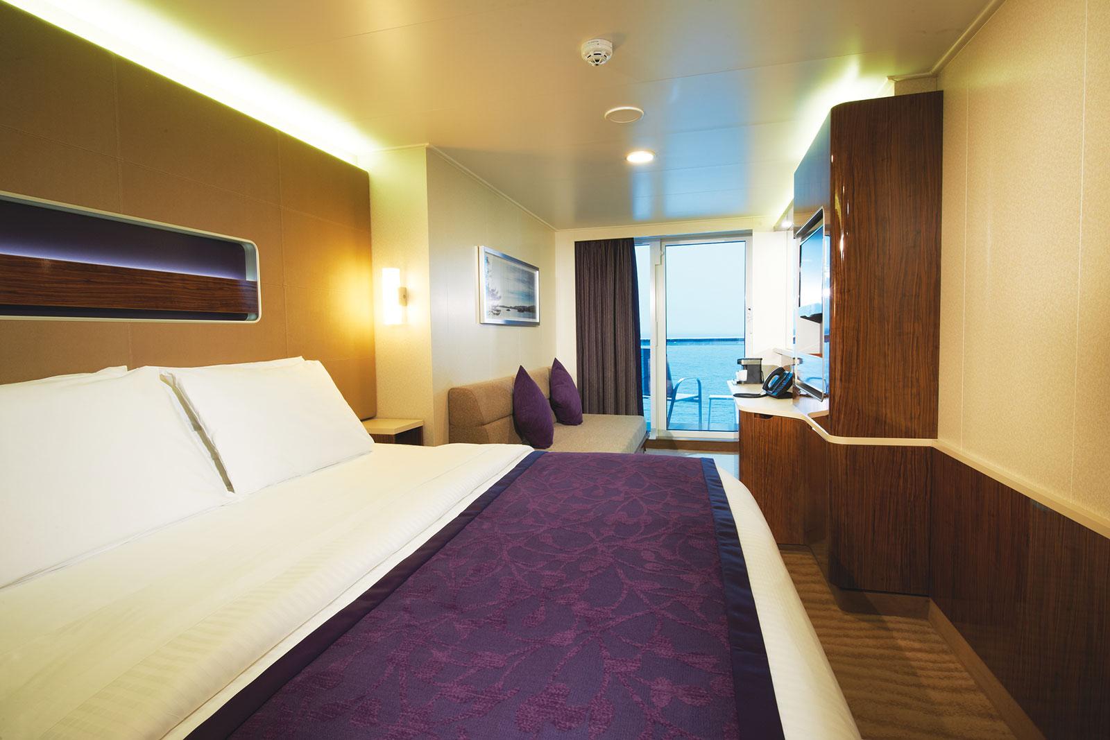 Mini-Suite en Popa con Balcón Grande