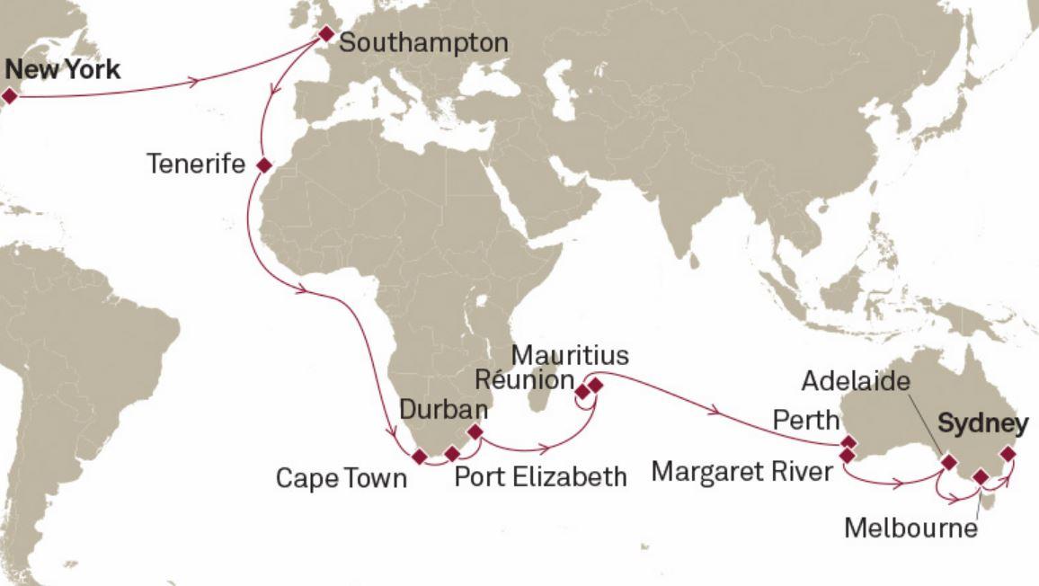 Itinerario del Crucero Caribe Oriental - Royal Caribbean